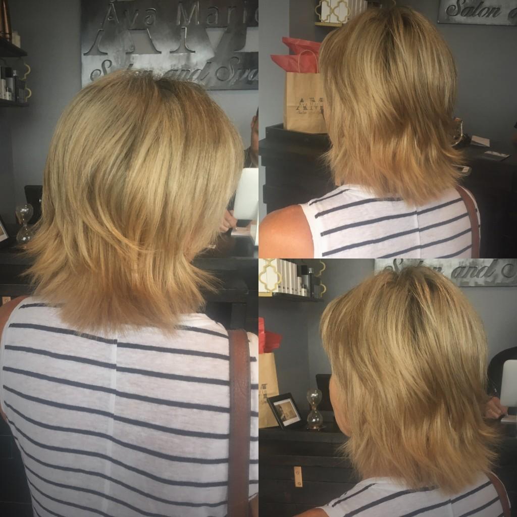 Hair by Diane Blincoe at Ava Marie Salon and Spa in Virginia Beach VA